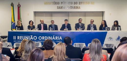 Direitos Humanos foi tema de encontro do Ministério Público brasileiro em Florianópolis
