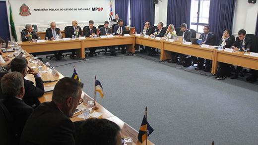 Alterações legislativas para a segurança pública dominaram pauta de reunião do CNPG